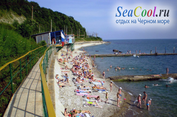 Лазурный берег краснодарский край поселка и пляжа 87