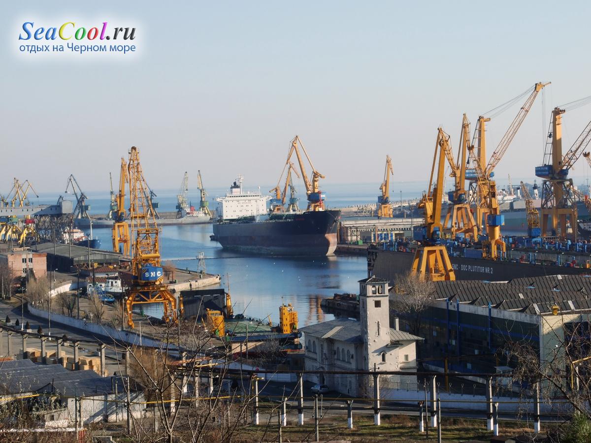 Черноморский порт румынии констанца